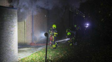 Meijelse brandweer naar grote brand in Nederweert