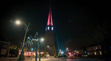 Kerktoren van Meijel weer in de spotlights